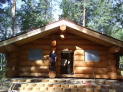 Строительство деревянных домов из Сибирского леса