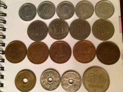 Продам монеты, япония.