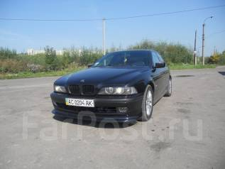 Накладка на бампер. BMW 5-Series, E39. Под заказ