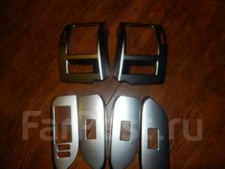 Накладка на порог. Toyota Land Cruiser Prado, GRJ150L, GRJ150W, GRJ151W, KDJ150L, TRJ12, TRJ120, TRJ120W, TRJ125, TRJ125W, TRJ150W Двигатели: 1GRFE, 1...