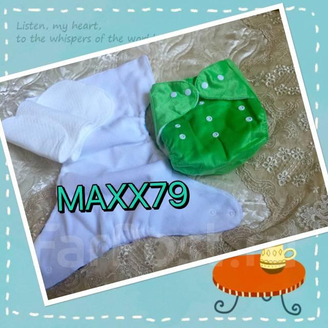 58185d935743 Многоразовый подгузник (велюр) для приучения к горшку. Зеленый ...