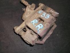 Суппорт тормозной. Nissan Laurel, HC33