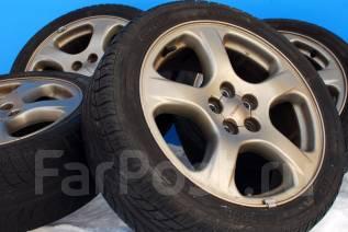 .83894 Оригинальные крепкие диски от Subaru с летними шинами. 7.0x17 5x100.00 ET55