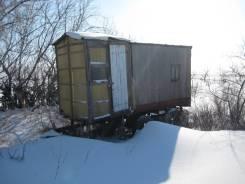 Самодельная модель. Дом на клёсах для пчеловода.