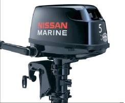 Nissan Marine NS5B D1. 5,00л.с., 2х тактный, бензин, нога S (381 мм), Год: 2017 год