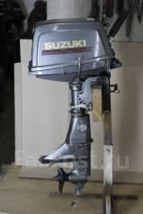 Suzuki. 5,00л.с., 2х тактный, бензин, нога S (381 мм), Год: 1999 год
