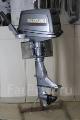 Suzuki. 8,00л.с., 2х тактный, бензин, нога S (381 мм), Год: 2009 год