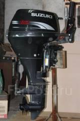 Suzuki. 9,90л.с., 2-тактный, бензиновый, нога S (381 мм), Год: 2012 год