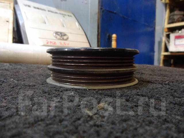 Шкив помпы. Toyota: Crown Majesta, Cressida, Mark II Wagon Blit, Crown, Verossa, Soarer, Mark II, Altezza, Cresta, Supra, Chaser Двигатель 1GFE