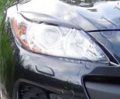Накладки на передние фары(реснички) Mazda 3 2010—2013. Mazda Mazda3