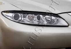 Накладки на передние фары(реснички) Mazda 6 2002—2007. Mazda Mazda6