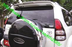 Спойлер под зеркало на Toyota Land Cruiser Prado 120. Toyota Land Cruiser Prado. Под заказ