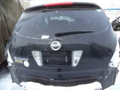 Дверь багажника. Nissan Murano, PNZ50 Двигатель VQ35DE