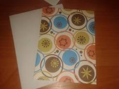 Продам заготовки для открыток с конвертами