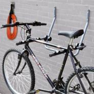 Подвесная система для хранения 2-х велосипедов, настенная, регулируемая