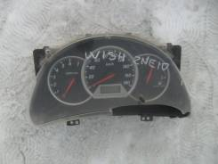 Панель приборов. Toyota Wish, ANE11, ANE10, ZNE10, ZNE14, ZNE14G, ZNE10G, ANE10G, ANE11W Двигатель 1ZZFE