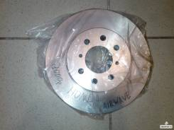 Диск тормозной. Honda: Jazz, Insight, Civic CRX, Civic, CR-X Delsol, Mobilio, Fit, Orthia, Airwave Двигатели: L12B1, L13Z1, L15A7, LDA3, D16Z6, B16A2...
