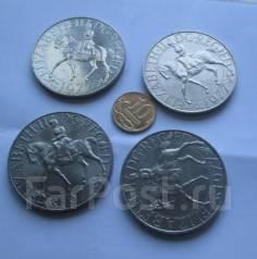 Англия. 25 пенсов (крона) 1977г. Юбилей правления.