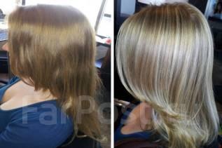 Мелирование волос без желтизны