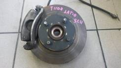 Ступица. Nissan Tiida Latio, SC11 Двигатель HR15DE