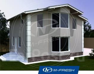M-fresh Young man (Спроектируем для современной семьи). 100-200 кв. м., 1 этаж, 4 комнаты, каркас