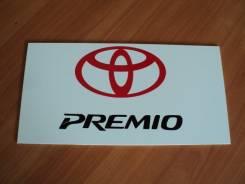 Табличка. Toyota Premio