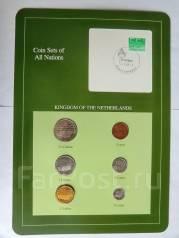 Коллекционный набор монет Нидерланды в упаковке.