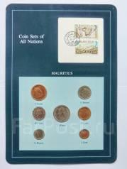 Коллекционный набор монет Маврикий в упаковке