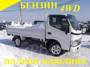 "Toyota Dyna. 4WD, бензин + ""автомат"", 2 000куб. см., 1 500кг."