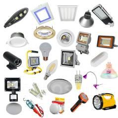 Светильники, прожекторы, софиты, лампы и многое другое