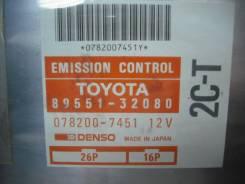 Блок управления двс. Toyota Vista, CV30 Toyota Camry, CV30 Двигатель 2CT