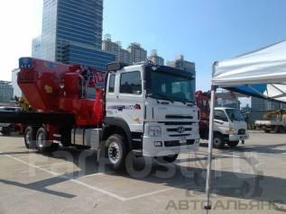 Horyong Sky. Навесное оборудование для монтажа на шасси, автовышка 65 метров, 65 м. Под заказ