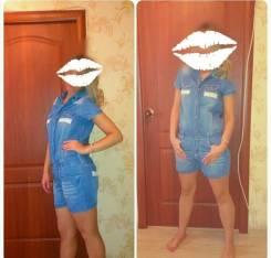 Комбинезоны джинсовые. 44