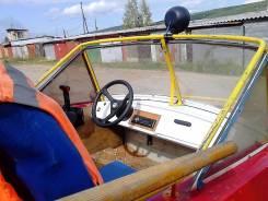 Обь-М. 2001 год, двигатель подвесной, бензин