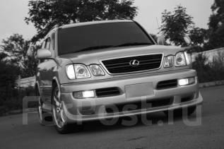 Обвес кузова аэродинамический. Lexus LX470, UZJ100