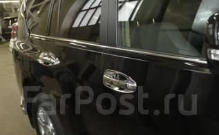 Накладка на ручки дверей. Toyota Land Cruiser Prado, GRJ150W, GRJ150L, GRJ151W, TRJ12, TRJ150W, KDJ150L Двигатели: 1GRFE, 1KDFTV, 2TRFE