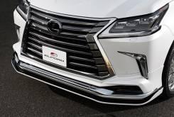 Губа Спойлер Обвес Elford Lexus LX570 LX450D 2016+. Lexus LX570 Lexus LX450d. Под заказ
