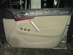 Обшивка двери передней правой Toyota Allion, Premio