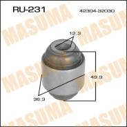 Сайлентблок заднего продольного рычага, цапфы RU231 MASUMA (27162)
