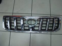 Решетка радиатора. Toyota Land Cruiser Prado, TRJ125, RZJ120, LJ125, KDJ125, GRJ120, TRJ120W, KZJ120, KDJ121, RZJ125, VZJ120, RZJ120W, KDJ120W, KDJ121...