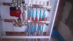 Проектирование, монтаж систем отопления, водоснабжения, водоотведения.
