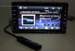 Универсальная магнитола DECO-6206. DVD/USB/SD/Bluetooth/TV/Камера