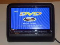 """Мультимедиа на подголовник 9"""" монитор с DVD/USB/игры. Цена за пару!"""