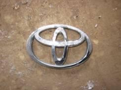 Эмблема багажника. Toyota Corolla, CDE120, ZZE123, ZZE122, ZZE121, ZZE120 Toyota Wish, ANE11, ZNE10, ANE10, ZNE14 Toyota Highlander, MCU20, ACU20, MCU...