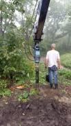 Услуги ямобура на гусеничном ходу