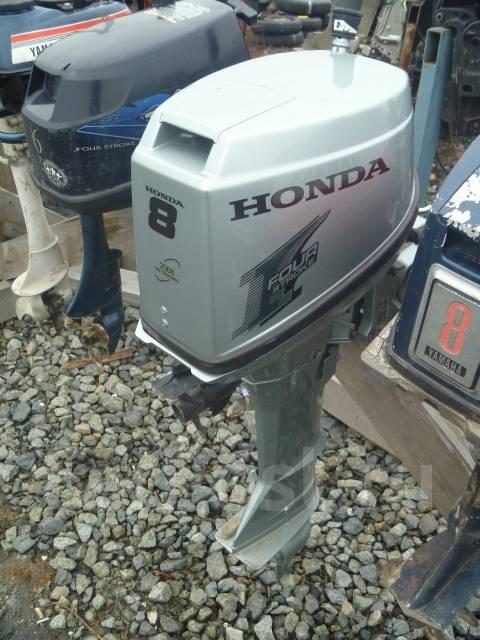 Honda. 8,00л.с., 4-тактный, бензиновый, нога L (508 мм), Год: 1999 год