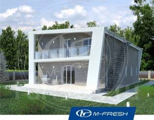 M-fresh Iceberg (Покупайте сейчас проект со скидкой 20%! ). 200-300 кв. м., 2 этажа, 5 комнат, бетон