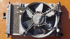 Вентилятор охлаждения радиатора. Daewoo Matiz, KLYA Двигатель F8CV