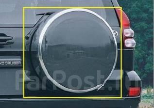 Чехол для запасного колеса. Toyota Land Cruiser Prado