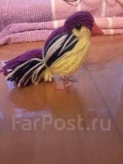 Птичка из пряжи мастер-класс